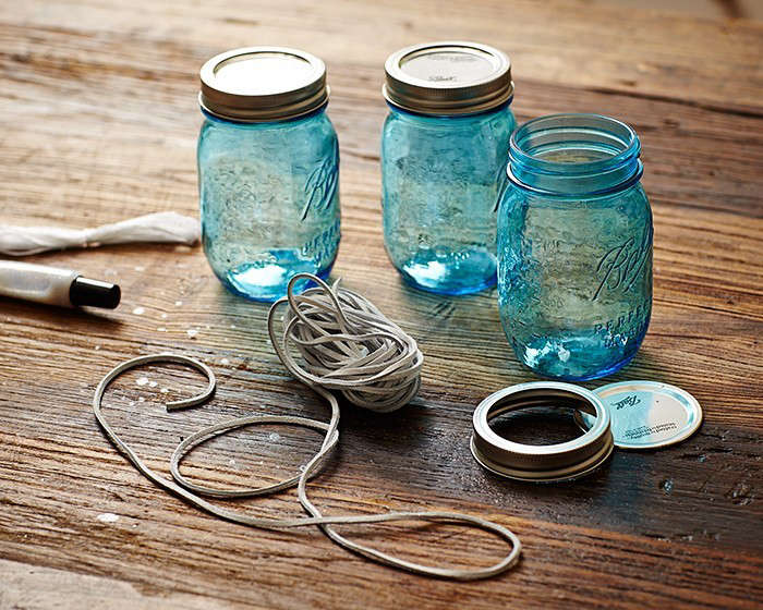 diy blue hanging lanterns darby smart l Gardenista