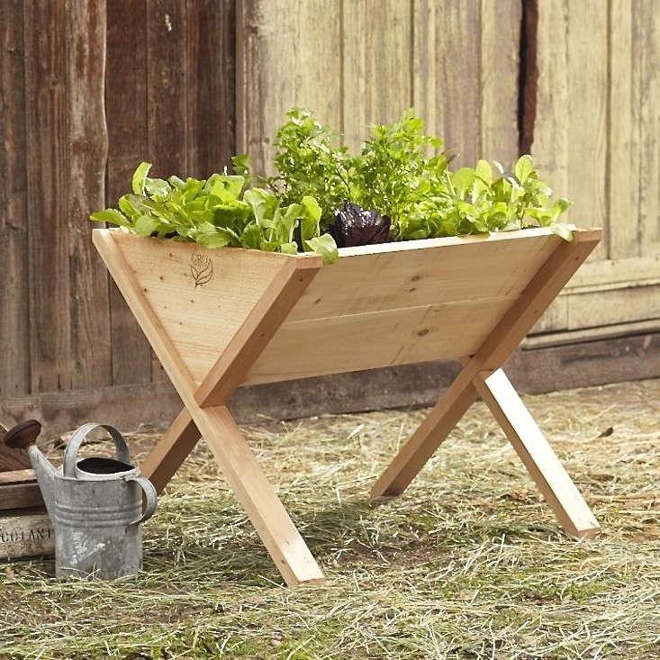 Edible Garden A Veg Wedge On Legs Gardenista