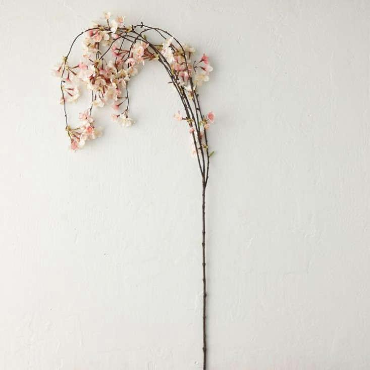 faux-cherry-blossom-branch-terrain-gardenista