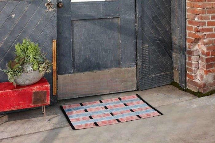 fire-hose-vintage-doormat-entry-remodelista