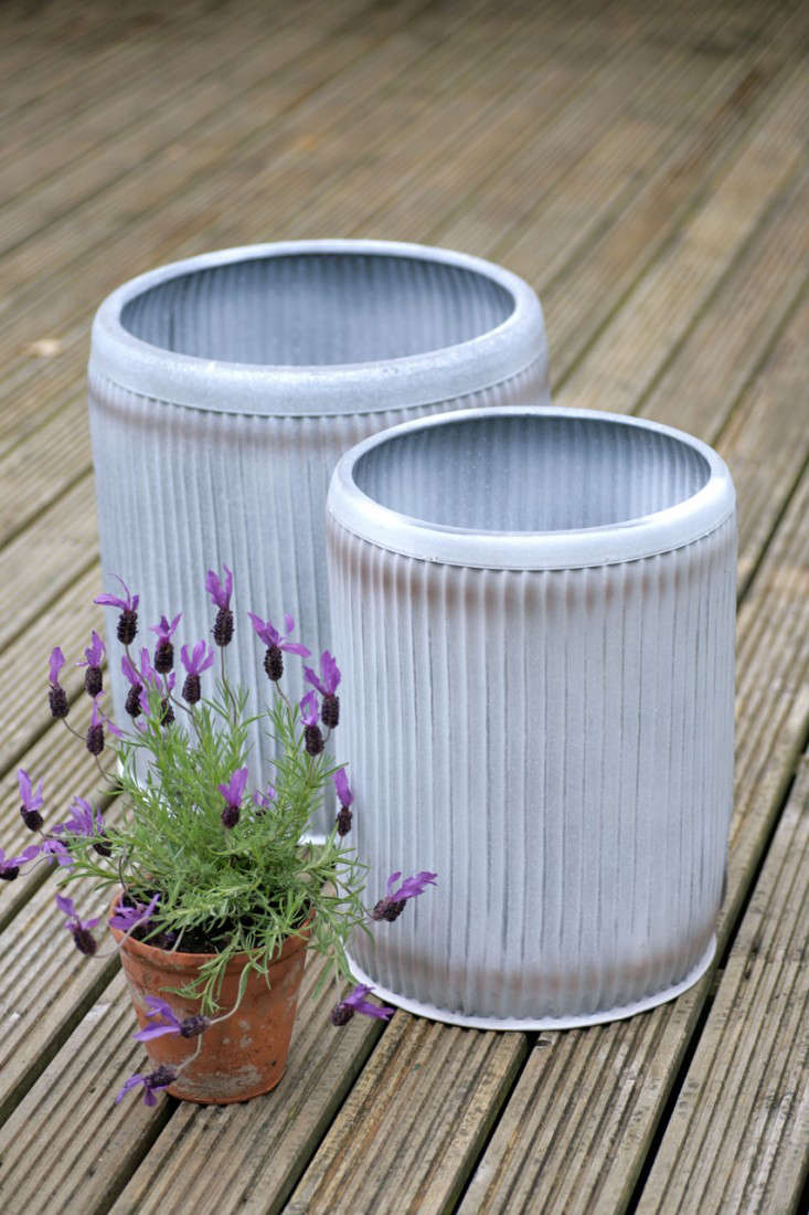 fluted-metal-provence-planters-gardenista