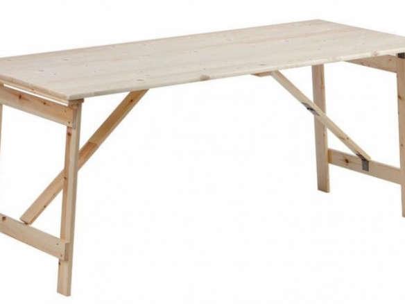 Wooden Folding Tables, Folding Wooden Table For Garden