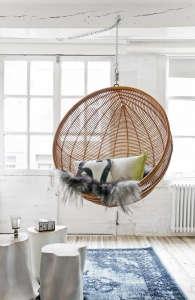Egg Shape Rattan Chair | Gardenista
