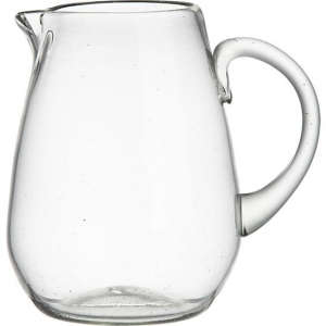 Recycled Glass Garcia Pitcher from Crate & Barrel, Gardenista