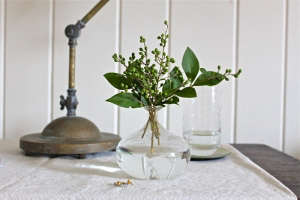 green privet berries vase ; Gardenista