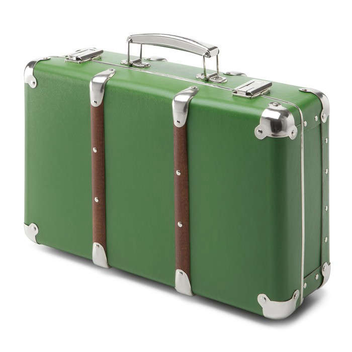 green-carboard-suitcase-gardenista