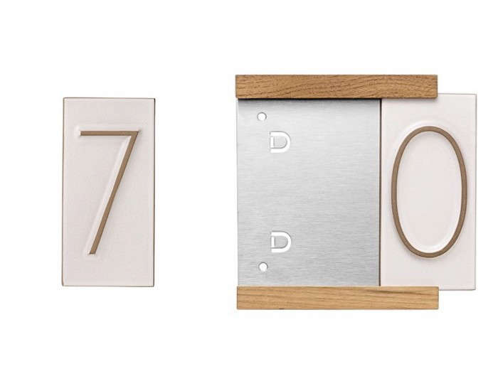 10 Easy Pieces Tile House Numbers Gardenista