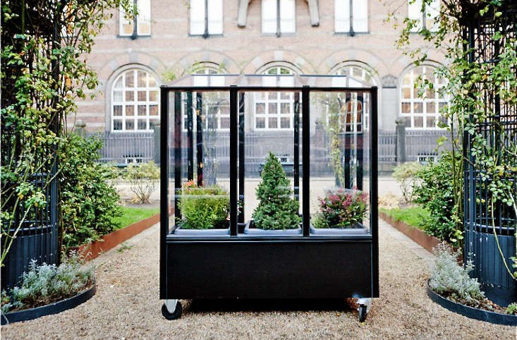 Small Space Gardening A Tiny Greenhouse On Wheels Gardenista