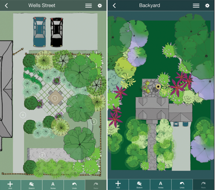 San Diego Apartments With Backyard: Mobile Me: A Landscape Design App That Gets Personal