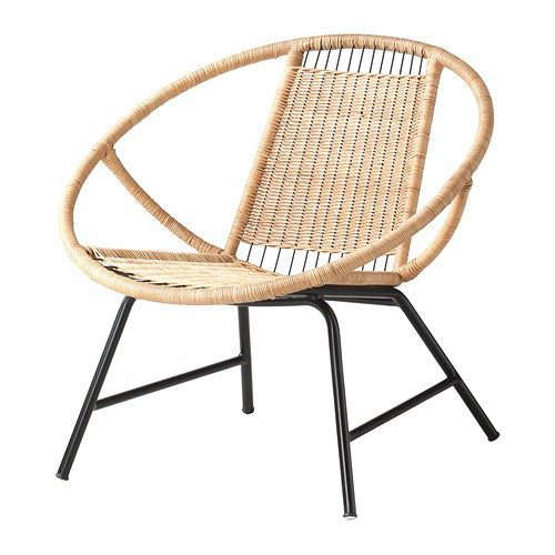 The gardenista 100 best rattan lounge chairs gardenista for Brommo chaise lounge