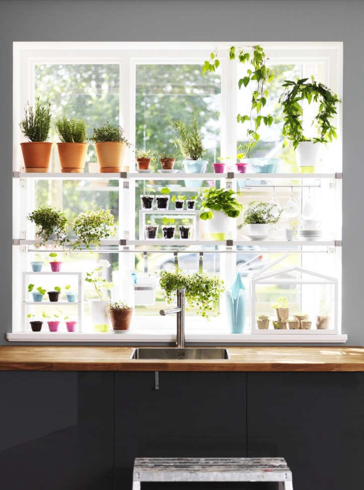 Current obsessions ikea hacks for under 50 gardenista for Ikea garden shelf