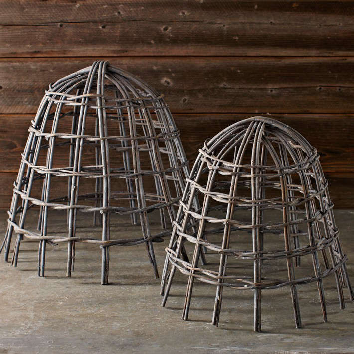 Willow Cloches: Gardenista