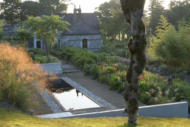 Garden visit at home with june blake in ireland 39 s county for Garden reflecting pool