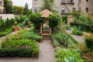 Restored Garden in NYC by Bette Midler | Gardenista