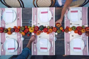 Rip + Tan Summer Entertaining Tabletop | Gardenista