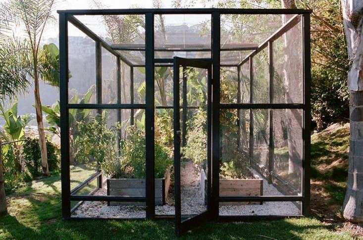 Steal this look a deer proof garden in hollywood hills gardenista - Deer proof vegetable garden ideas ...