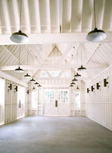 Lombardi house barn Los Angeles wedding space ; Gardenista