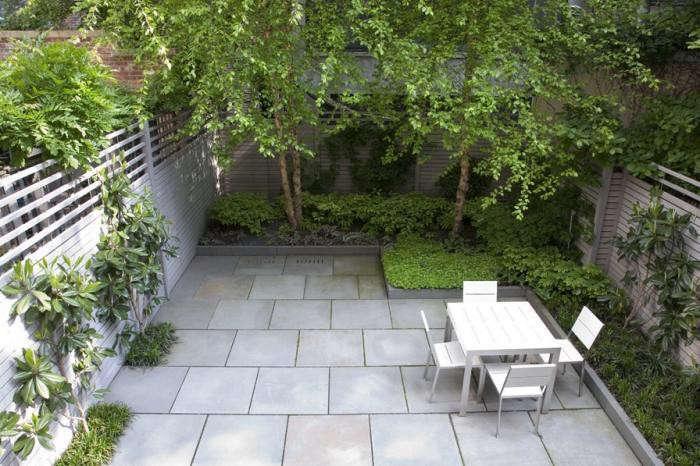 Landscape architect visit a lush nyc backyard by robin for Townhouse garden design ideas