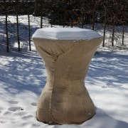 martha-stewart-burlap-covered-urn-gardenista