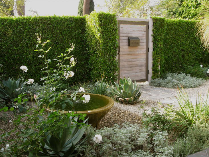 La Confidential A Private Courtyard Garden Goes Luxe On A