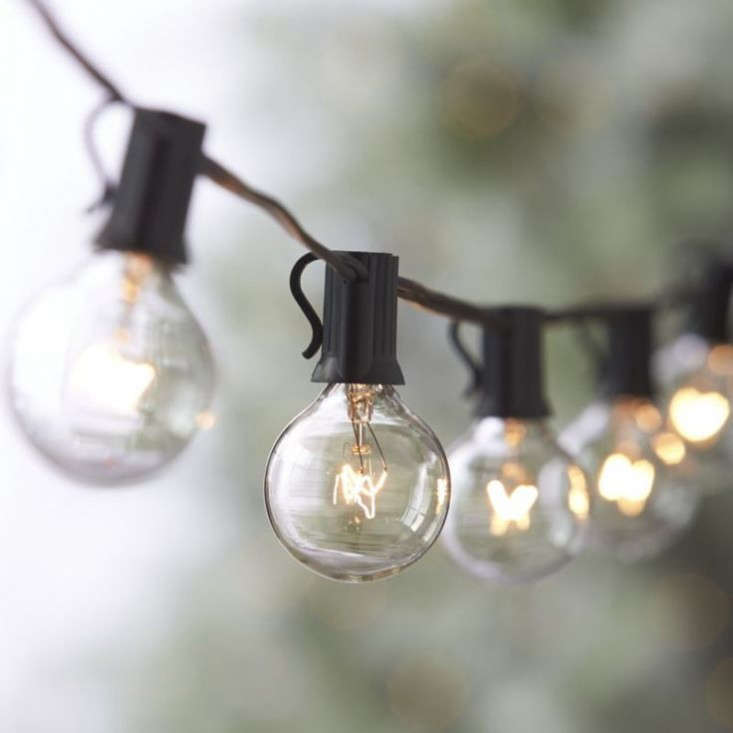 10 Easy Pieces Outdoor Holiday String Lights Gardenista