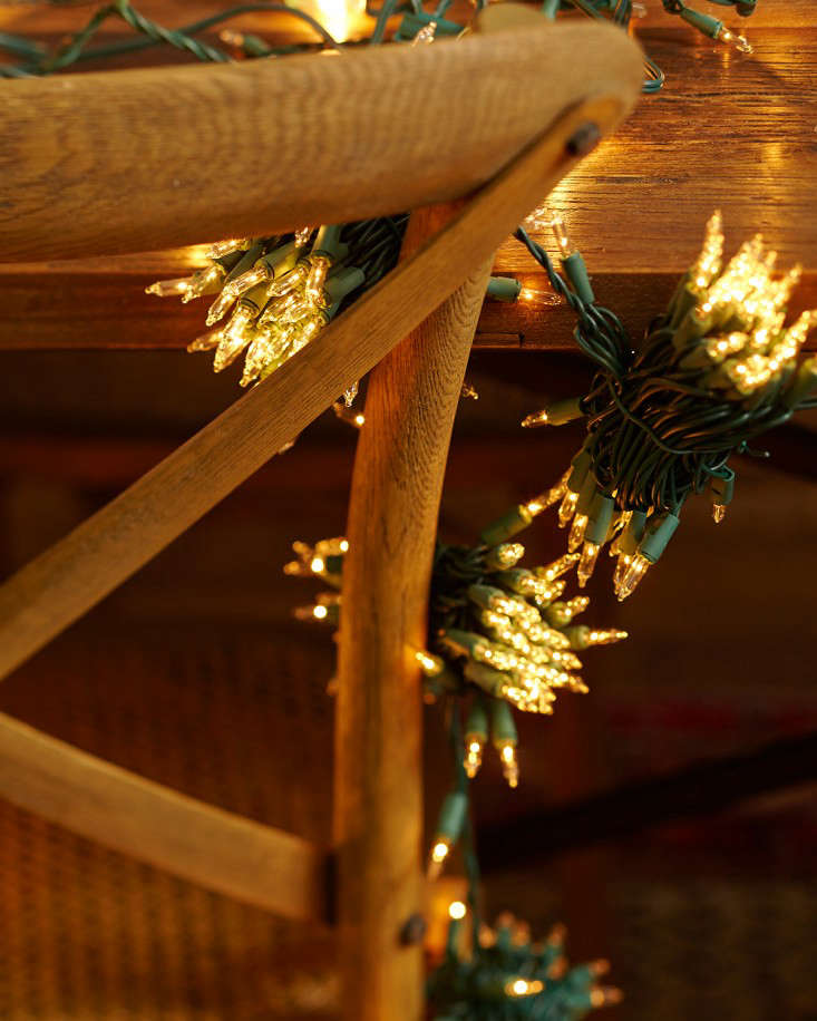DIY: A Starry Night Holiday Light Display - Gardenista