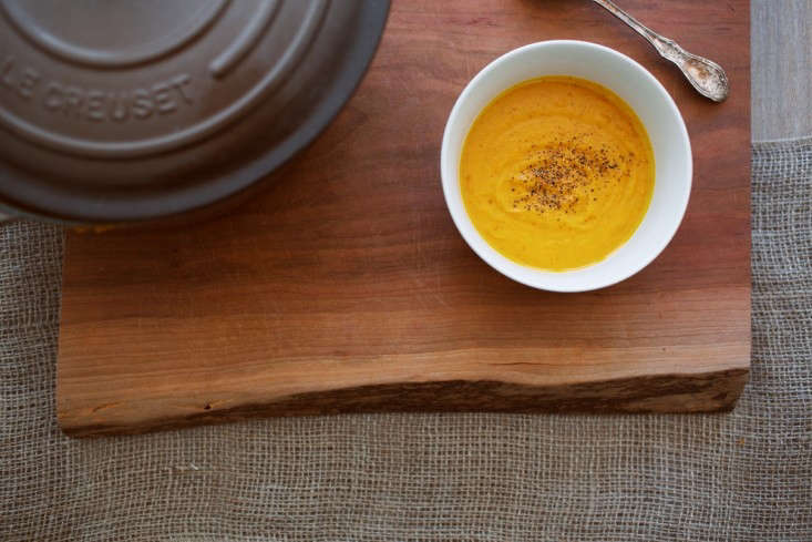 Garden To Table Recipe Pumpkin Soup With An Unexpected Twist Gardenista