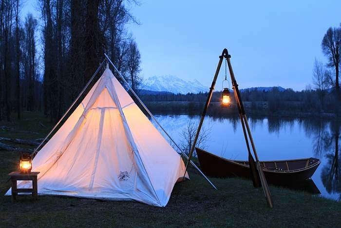 10 Easy Pieces Canvas Teepee Tents Gardenista