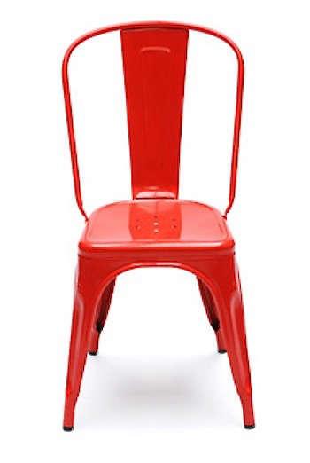 red-bistro-chair-marais-a-tolix-gardenista