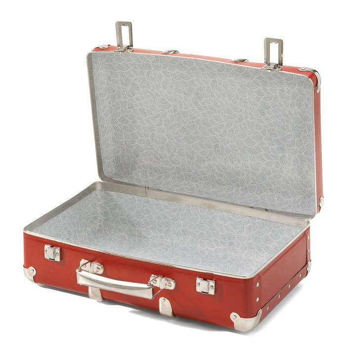 red-open-carboard-suitcase-gardenista