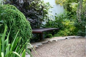 ehab-diary-eugene-oregon-garden-sone-wall-pea-gravel-garden-design-bench-stone-edging-gardenista.