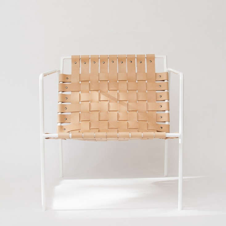 rod-weave-chair-eric-trine-white-powdercoat-vegetable-tanned-leather-gardenista