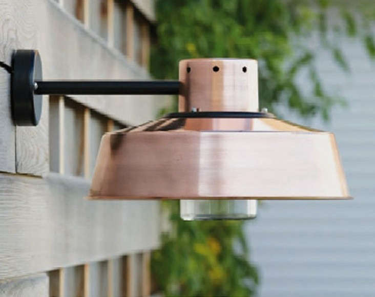 Industrial Style Outdoor Lighting from a French Lantern