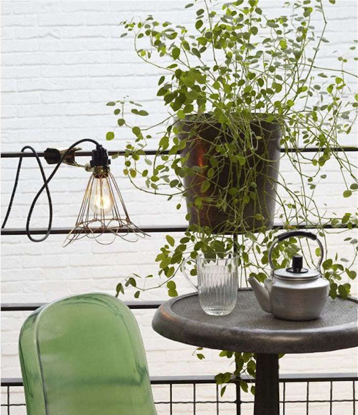 saddlebag balcony planter pot