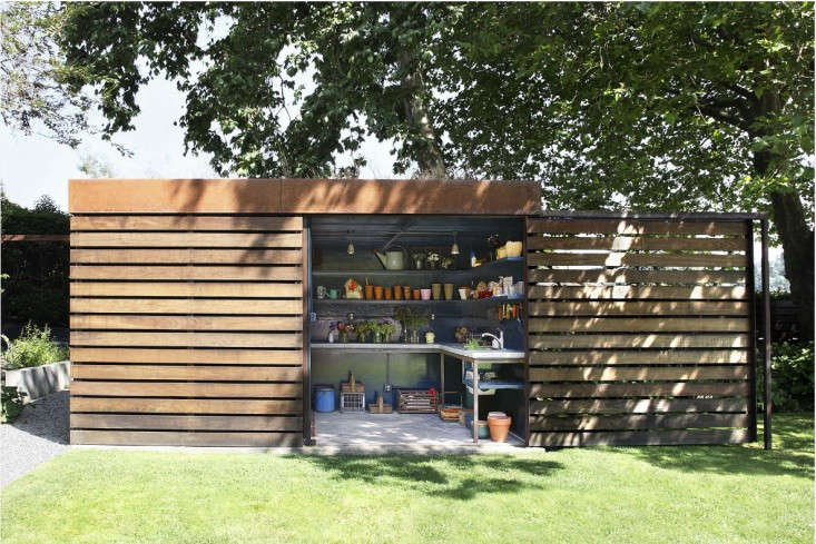 Garden Sheds Seattle hardscaping 101: garden sheds | gardenista: sourcebook for outdoor