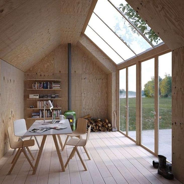 skylights swedish artist studio gardenista