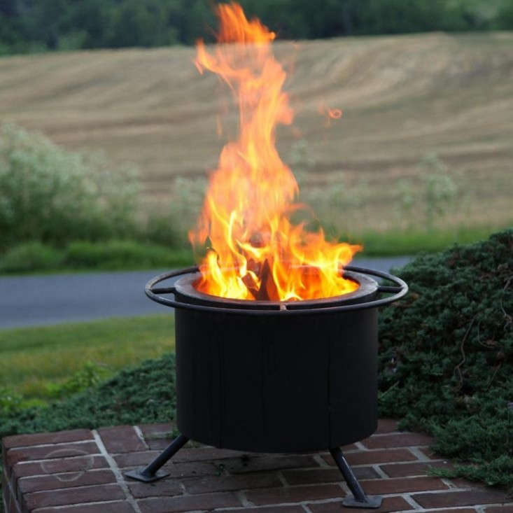 Portable Wood Burning Fire Pit : Easy pieces portable fire pits gardenista