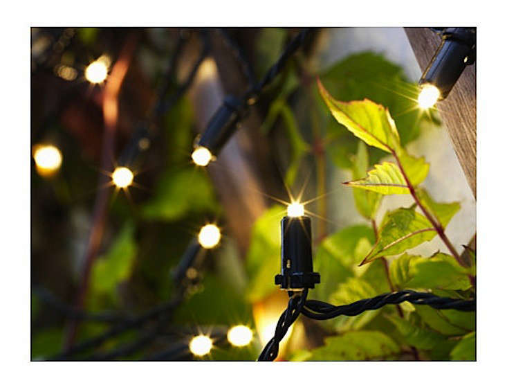 Ikea string lights outdoor kilometer light chain with 24 for String lights for bedroom ikea