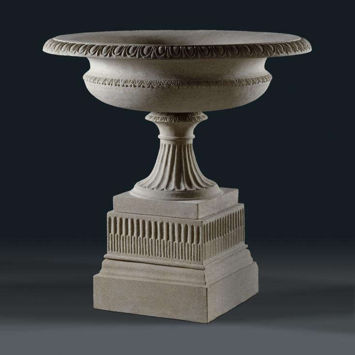 stone urn for the garden