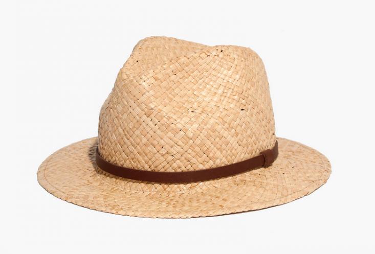 straw-fedora-hat-summer-sun-protection-gardening-beach-gardenista