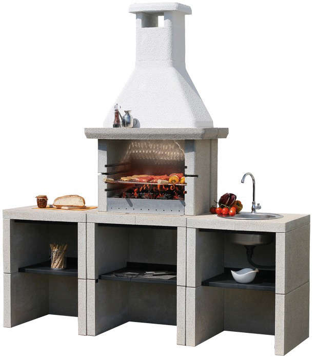 30 Outdoor Kitchens And Grilling Stations: 10 Easy Pieces: Outdoor Kitchen Workstations: Gardenista
