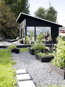 Outbuilding Swedish orangery Agneta Enzell ; Gardenista