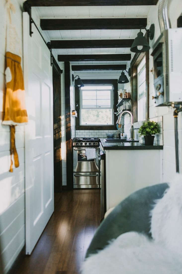 On The Road For 75k A Tiny Luxe House On Wheels Gardenista
