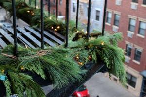 winter fire escape | gardenista