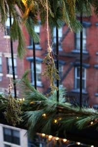 holiday fire escape | gardenista