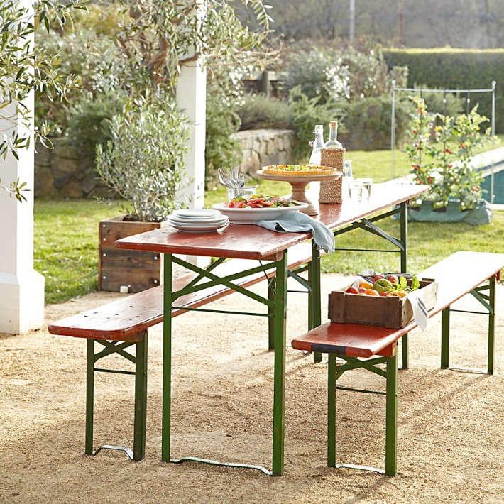 The Gardenista 100 Biergarten Tables Gardenista - indoor beer garden design ideas