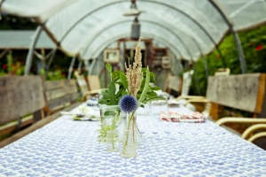 Dinner at Beetlebung Farm, Gardenista