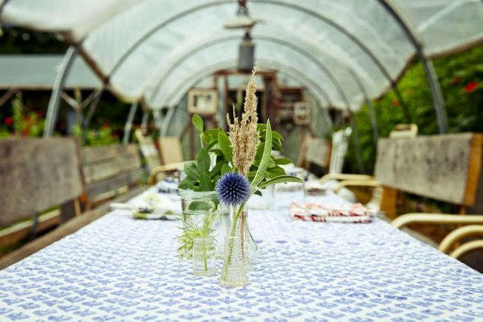 A Starlit Greenhouse Dinner Martha S Vineyard Edition