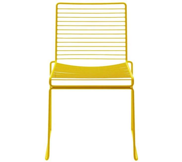 hay-hee-dining-chair-yellow-Gardenista