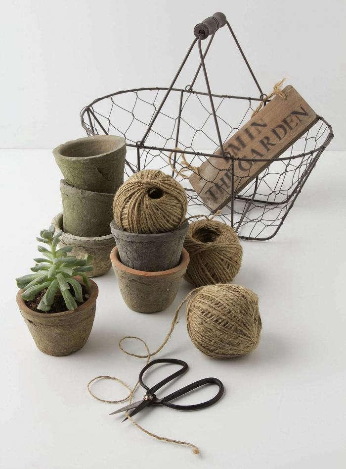 Garden Tools Basket Gardenista